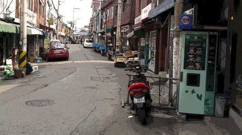 Backstreets of Itaewon