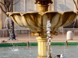The fountain is on - a sure sign of Spring at GEV!
