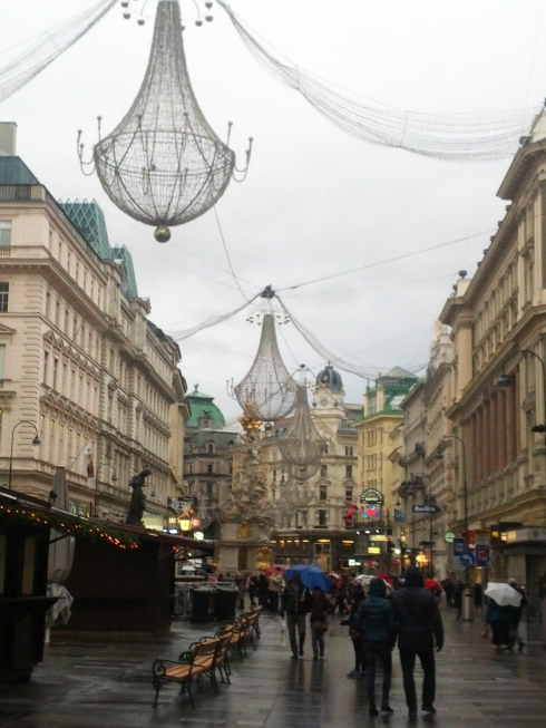 Christmas beauty in the inner city of Vienna