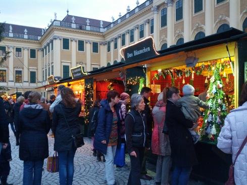 Christkindel Market Schonbrunn Palace