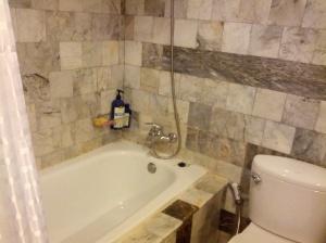 A bathtub!